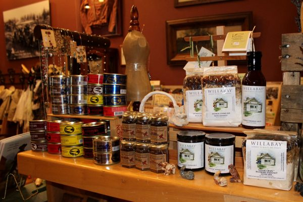 Northwest Carriage Museum Gift Shop locally-made treats