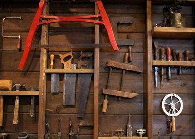 Northwest Carriage Museum Tools