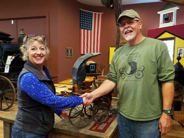 Donate to the NW Carriage Museum