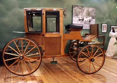 Northwest Carriage Museum summer coupe brougham
