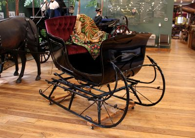 Northwest Carriage Museum town sleigh