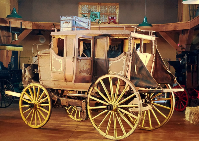Northwest Carriage Museum Stagecoach