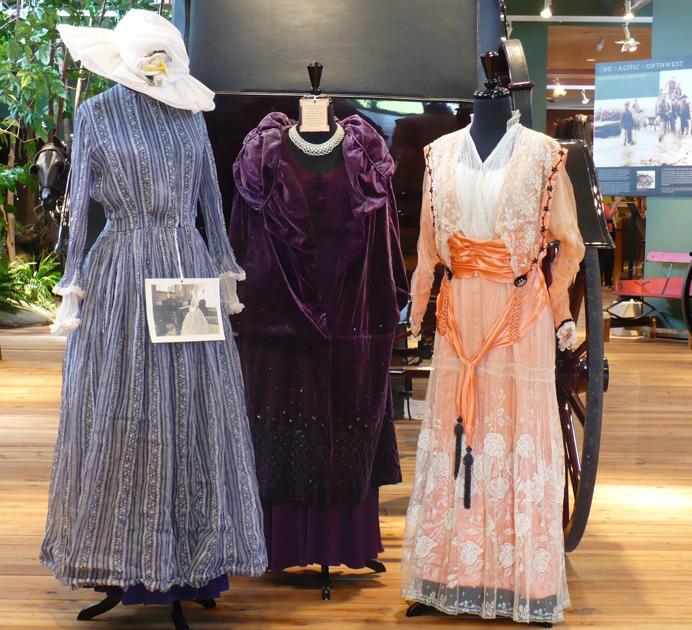Turn of the century dresses