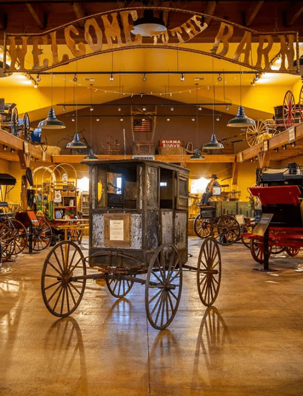 NW Carriage Museum Mail Buggy