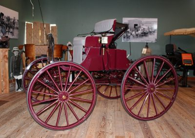 Northwest Carriage Museum Turn Under Seat Trap