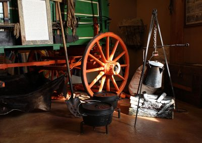 Chuck Wagon Coffee at Northwest Carriage Museum