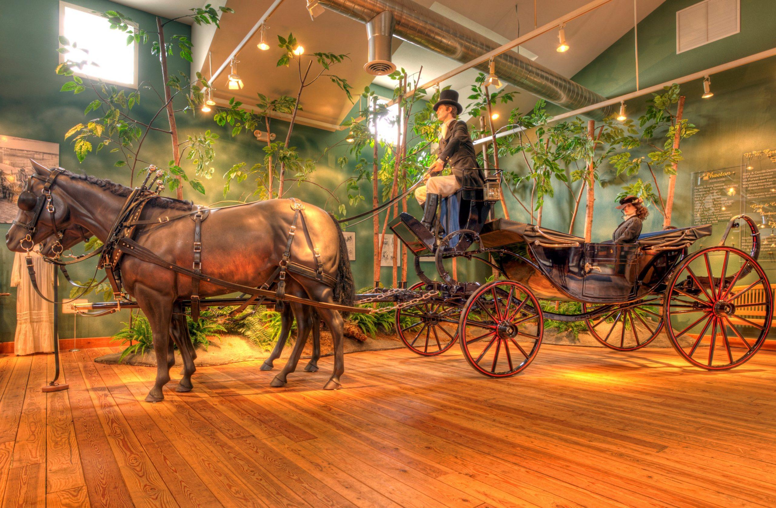 NW Carriage Museum Dress Landau