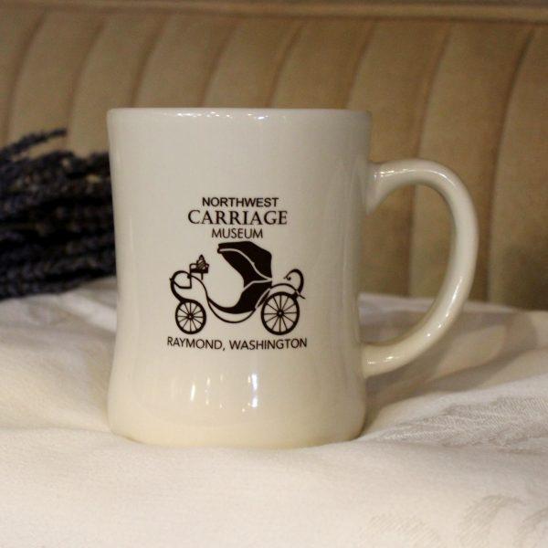 White NW Carriage Museum Mug